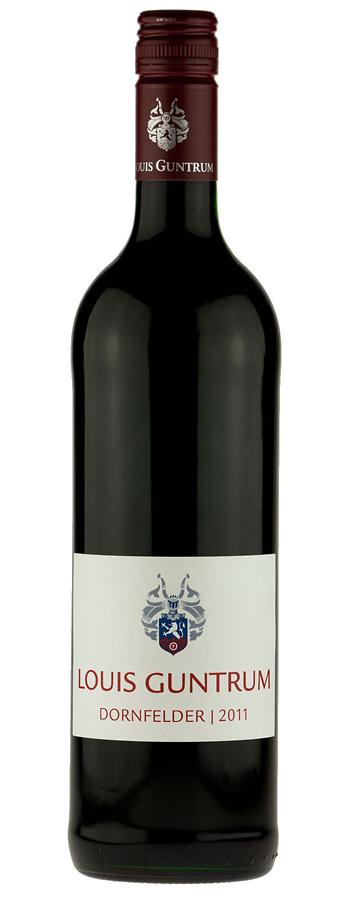 Dornfelder Weinflasche