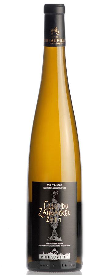 Clos du Zahnacker Weinflasche