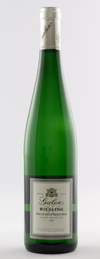 Riesling Grand Premier Cru Wellenstein Weinflasche
