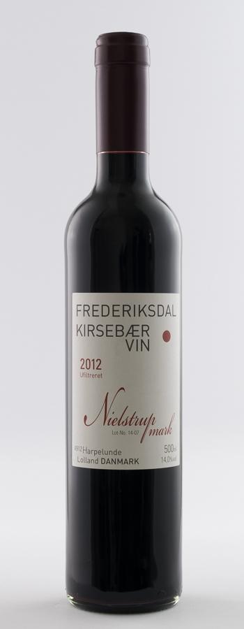 Frederiksdal Nielstrupmark Weinflasche