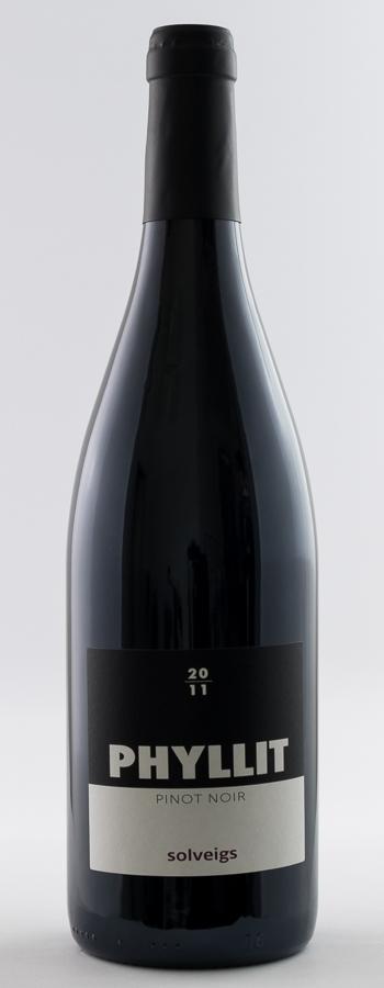 Phyllit Pinot Noir Weinflasche