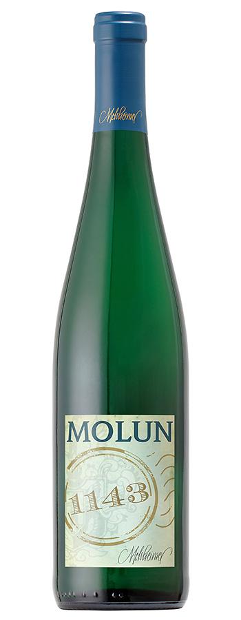 Molun Riesling Weinflasche