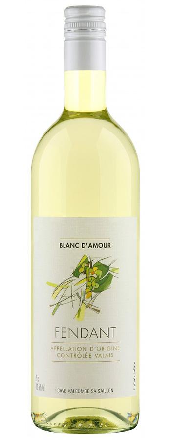 Fendant du Valais AOC Blanc d'Amour Weinflasche