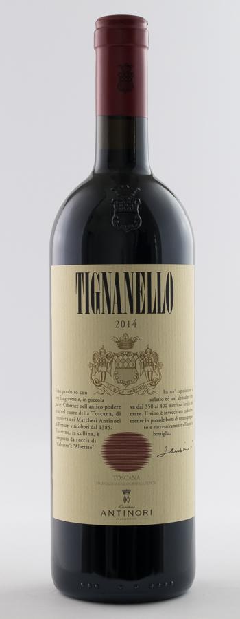 Tignanello Weinflasche