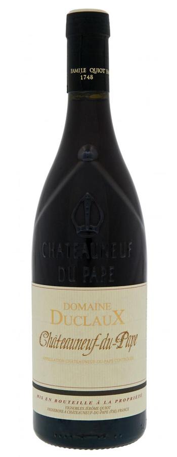 Châteauneuf-du Pape rouge Weinflasche