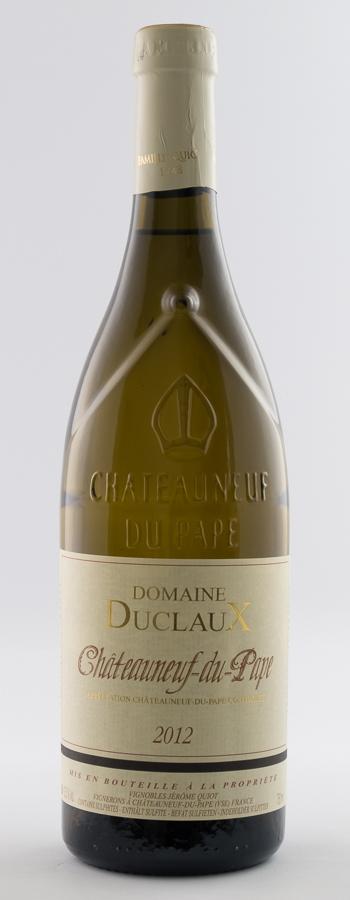 Châteauneuf du Pape Blanc Weinflasche