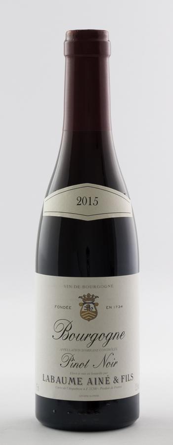 Bourgogne Pinot Noir Weinflasche