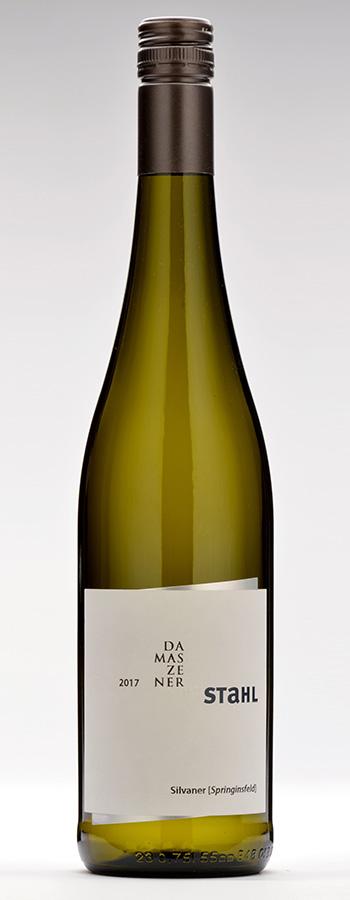 Damaszenerstahl Silvaner Weinflasche