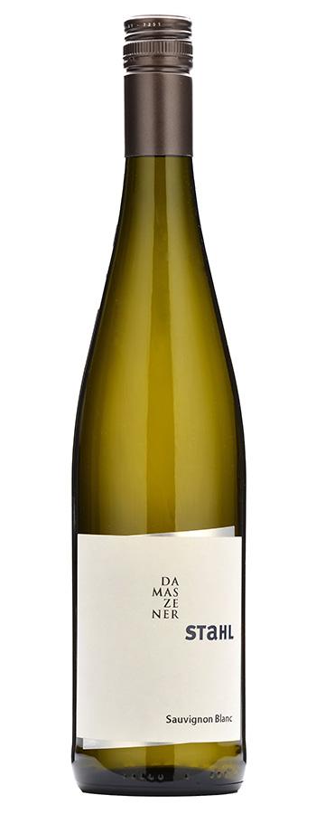Sauvignon Blanc Damszenerstahl Weinflasche