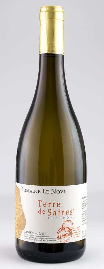 Terre de Safres Blanc Weinflasche