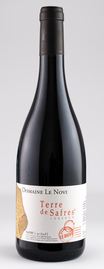 Terre de Safres Rouge Weinflasche