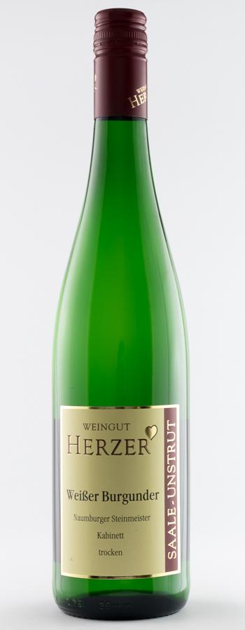 Weissburgunder Kabinett Weinflasche