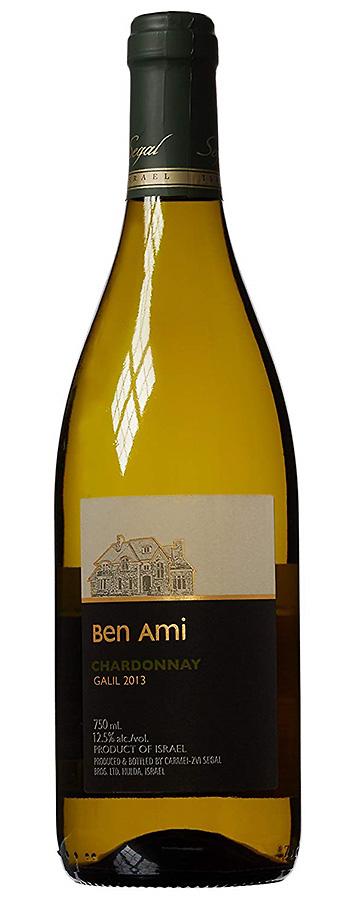 "Segal Ben Ami ""mewuschal"" Chardonnay Weinflasche"