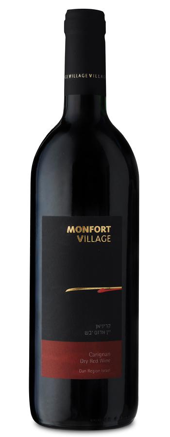 Monfort Village Carignan Weinflasche