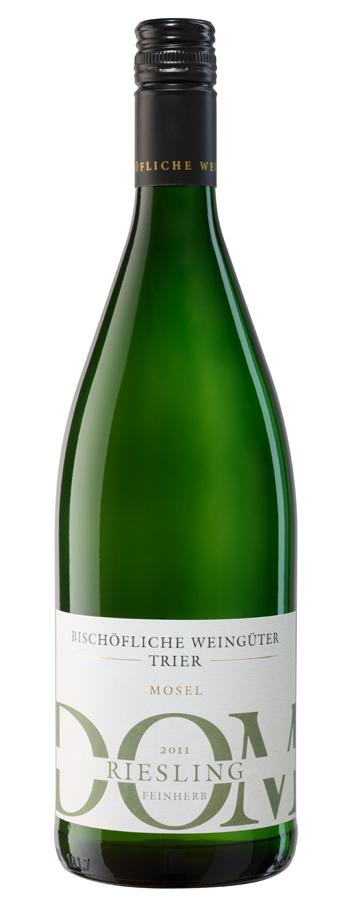 DOM Riesling feinherb Weinflasche
