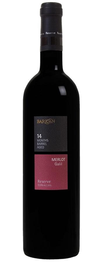 Reserve Merlot Weinflasche
