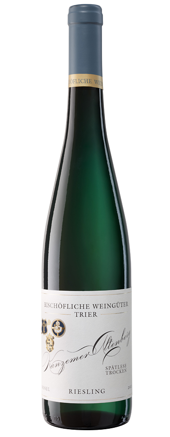 Kanzemer Altenberg Weinflasche