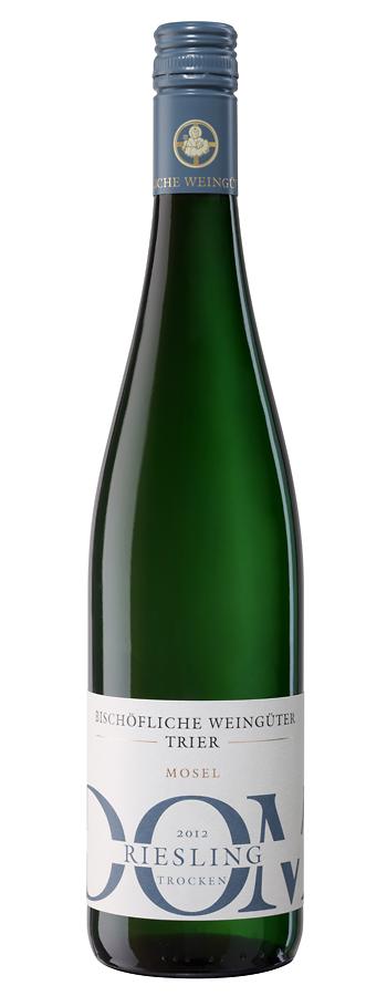 Dom Riesling trocken Weinflasche