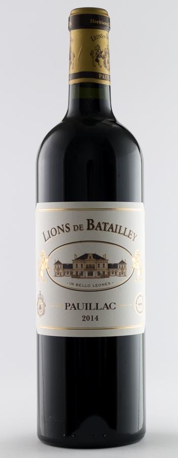 Lions de Batailley Weinflasche