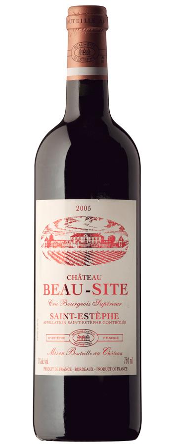 Château Beau-Site Weinflasche