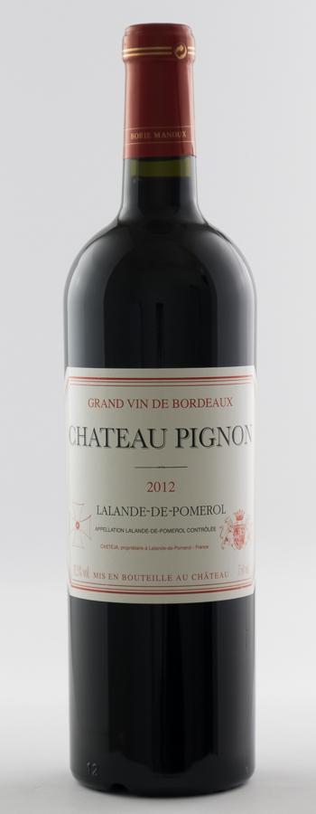 Château Pignon Weinflasche