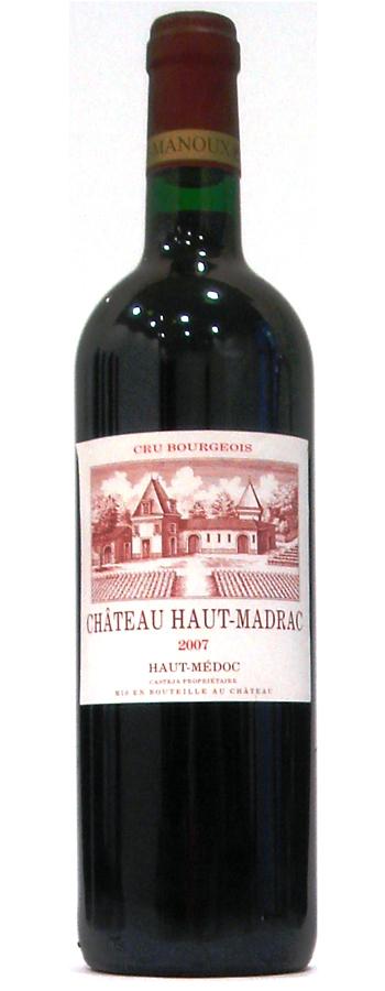 Château Haut-Madrac Weinflasche