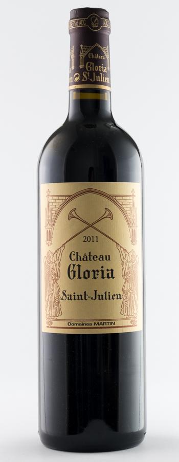Château Gloria Weinflasche