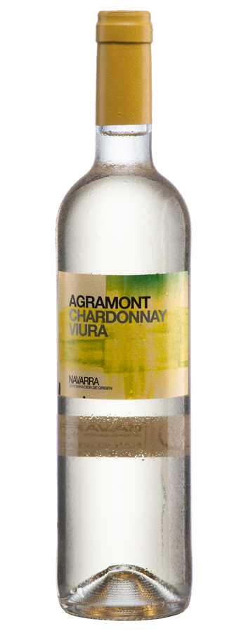 Agramont blanco Weinflasche