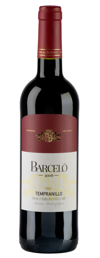 Barceló Tempranillo tinto Weinflasche