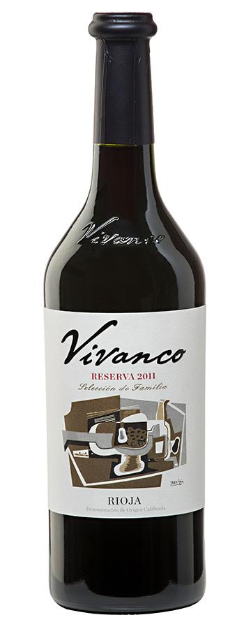 Reserva Weinflasche