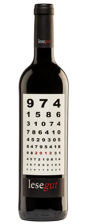 Lesegut Tinto Weinflasche