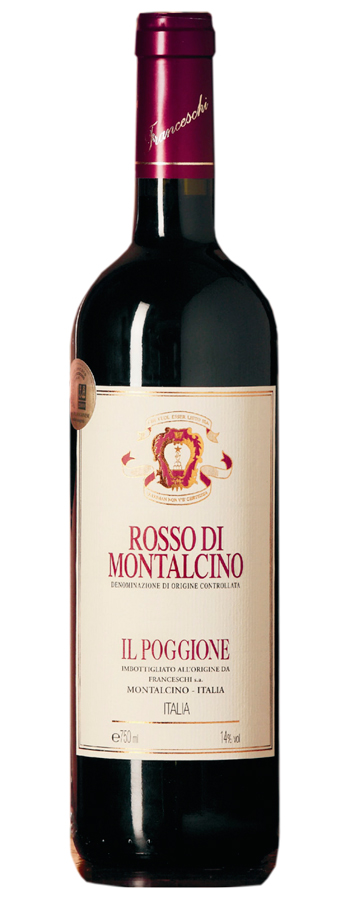 Rosso di Montalcino Weinflasche