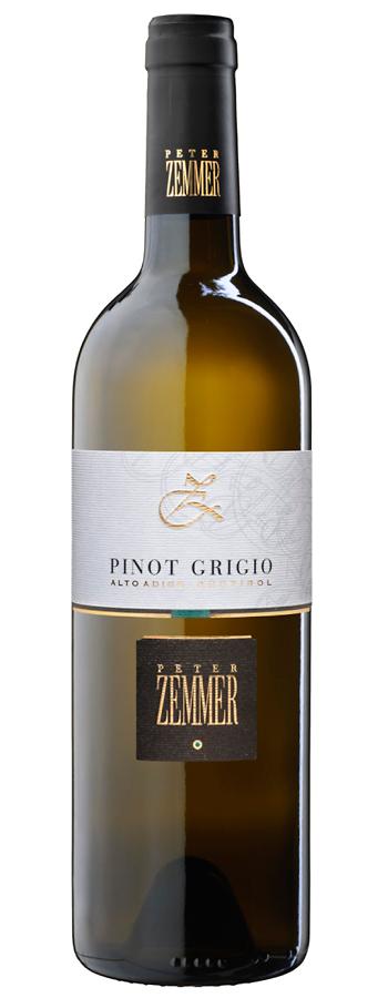 Pinot Grigio Weinflasche