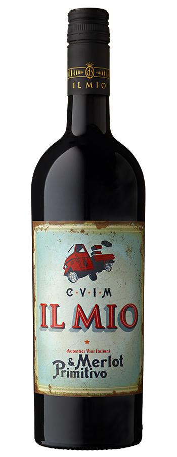 Merlot / Primitivo Weinflasche