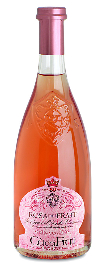 Rosa dei Frati Weinflasche