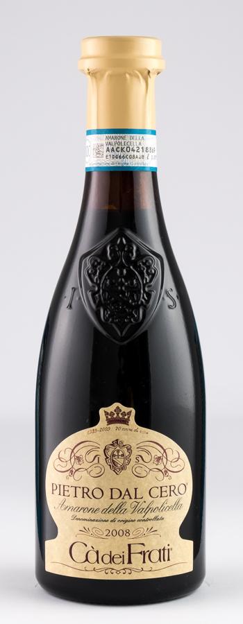 Amarone Pietro d.Cero Weinflasche