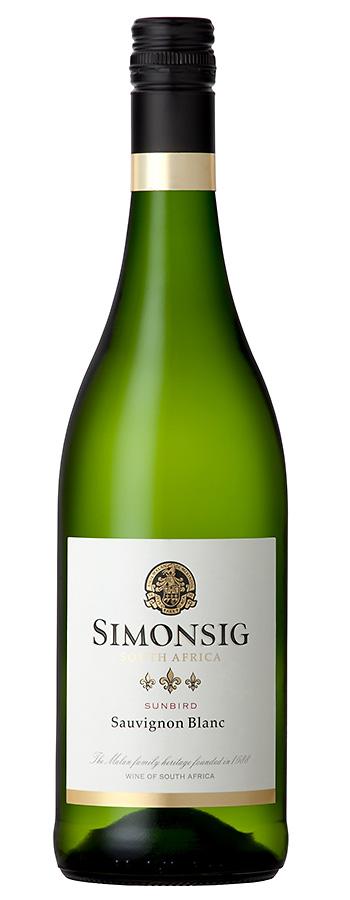 Sauvignon Blanc Stellenbosch Weinflasche