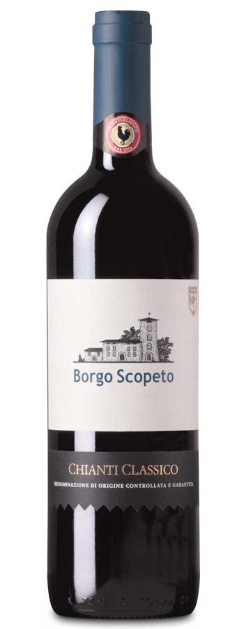 Chianti Classico DOCG Weinflasche