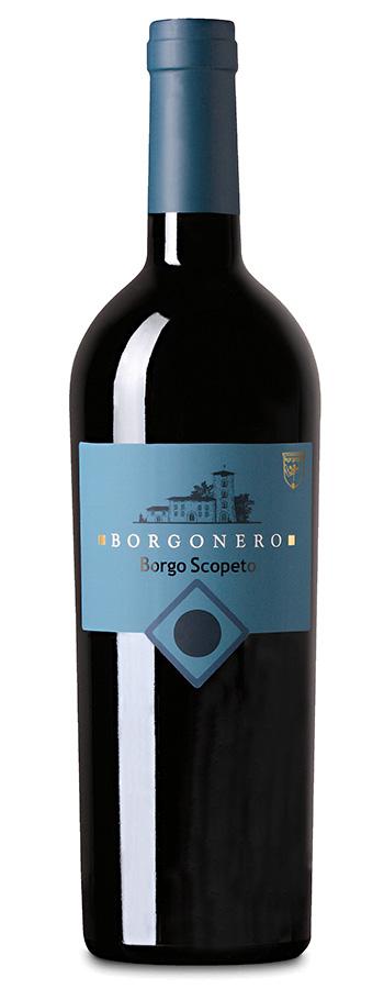 Borgonero Toscana IGT Weinflasche