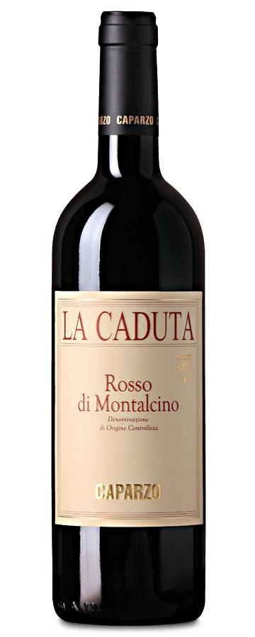 """Rosso di Montalcino """"La Caduta"""" Weinflasche"""