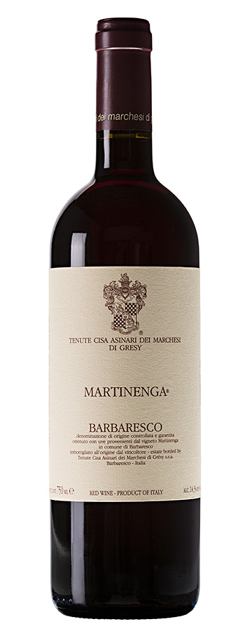 Barbaresco La Martinenga Weinflasche