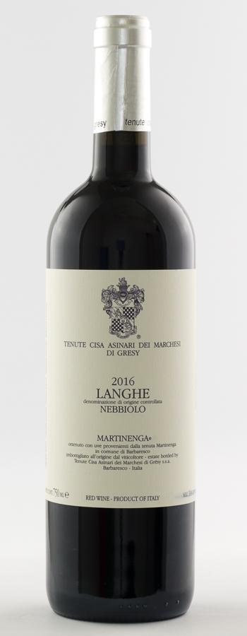 Langhe Nebbiolo La Martinenga Weinflasche
