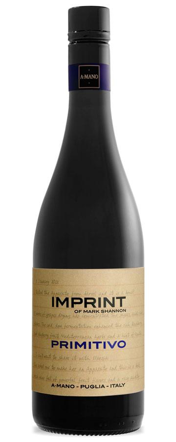 Primitivo Appassito Weinflasche