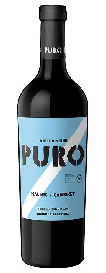 Puro Malbec/Cabernet Weinflasche