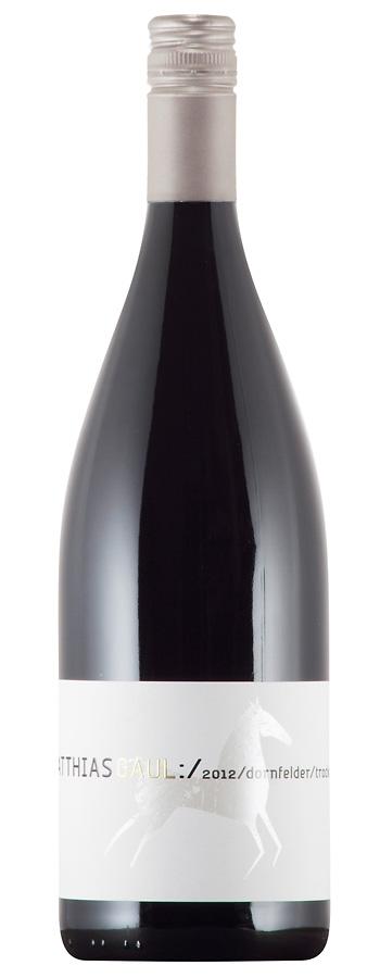 Gutswein Dornfelder Weinflasche