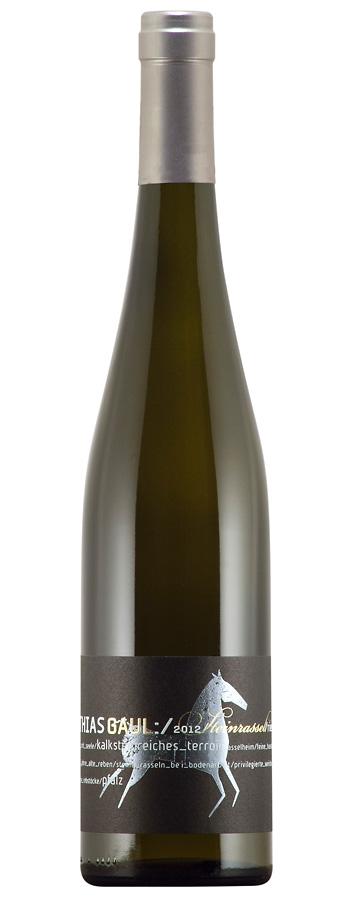 Steinrassel Riesling Weinflasche