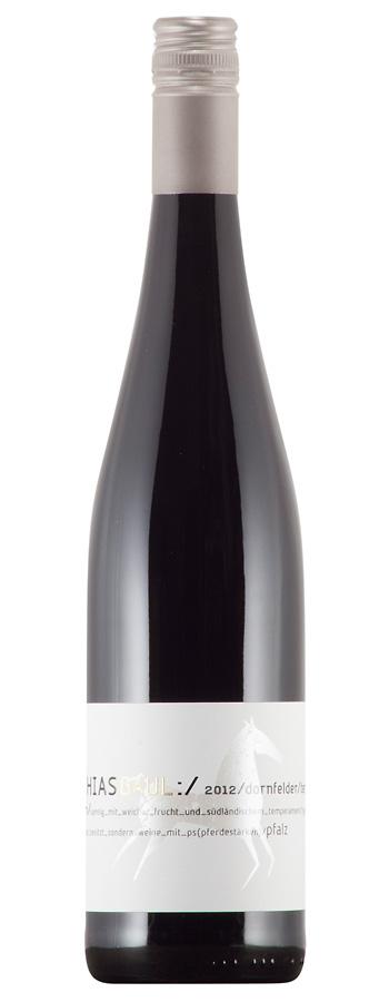 Dornfelder t'c Weinflasche
