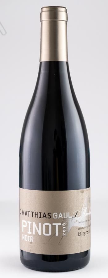 Pinot Noir Asselheim Weinflasche