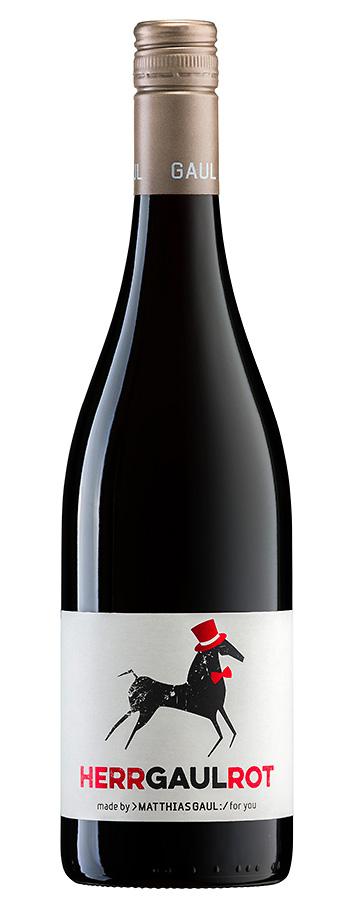 Herr Gaul Cuvée Rot Weinflasche