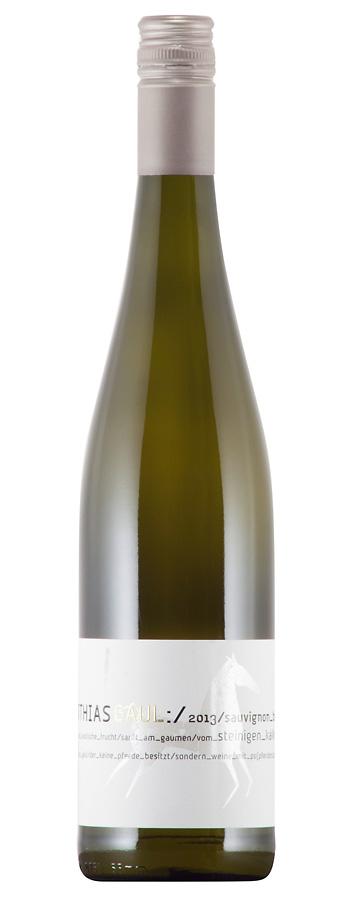 Gutswein Sauvignon Blanc Weinflasche